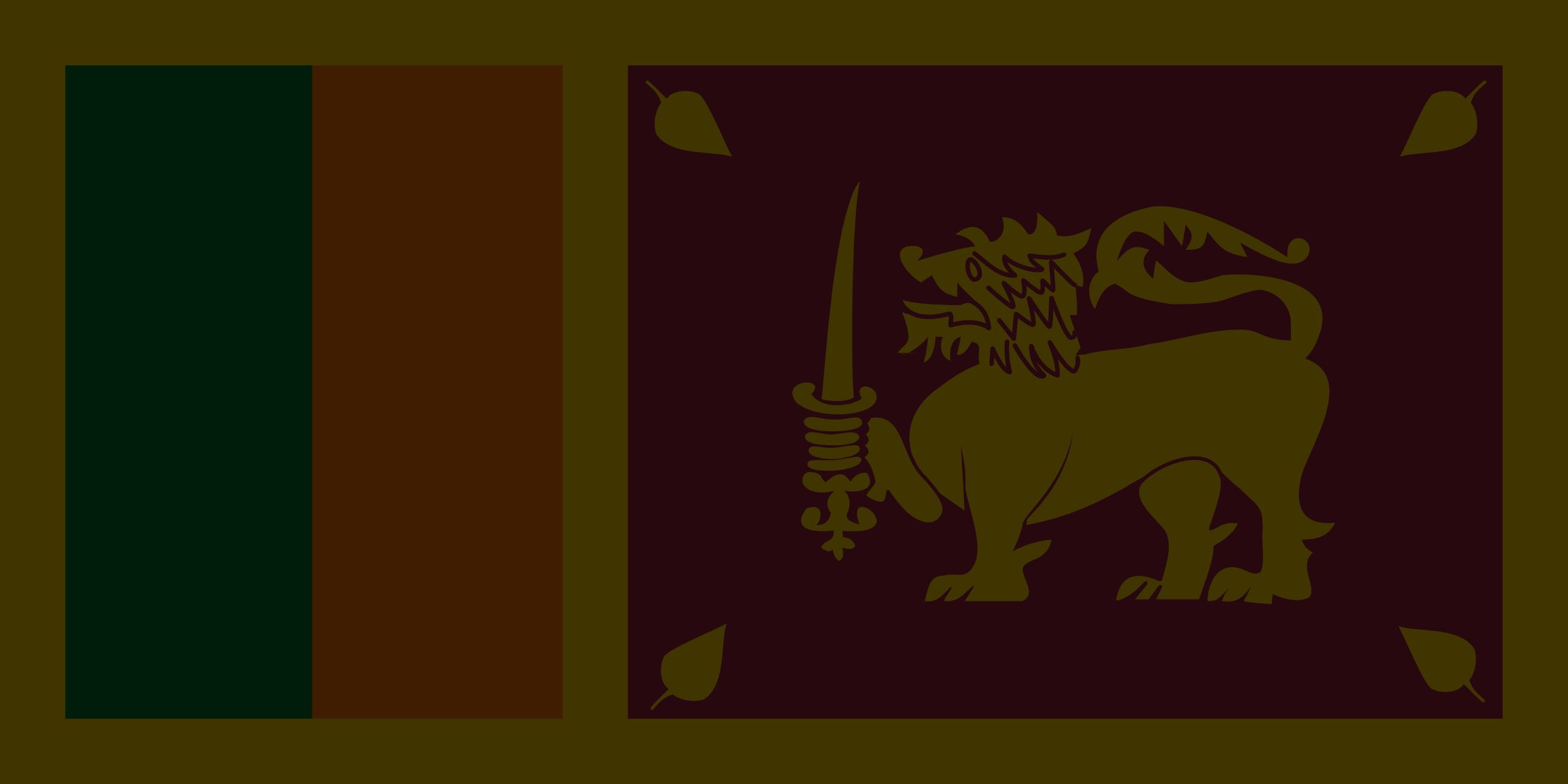 flagge-sri-lanka-schwarz