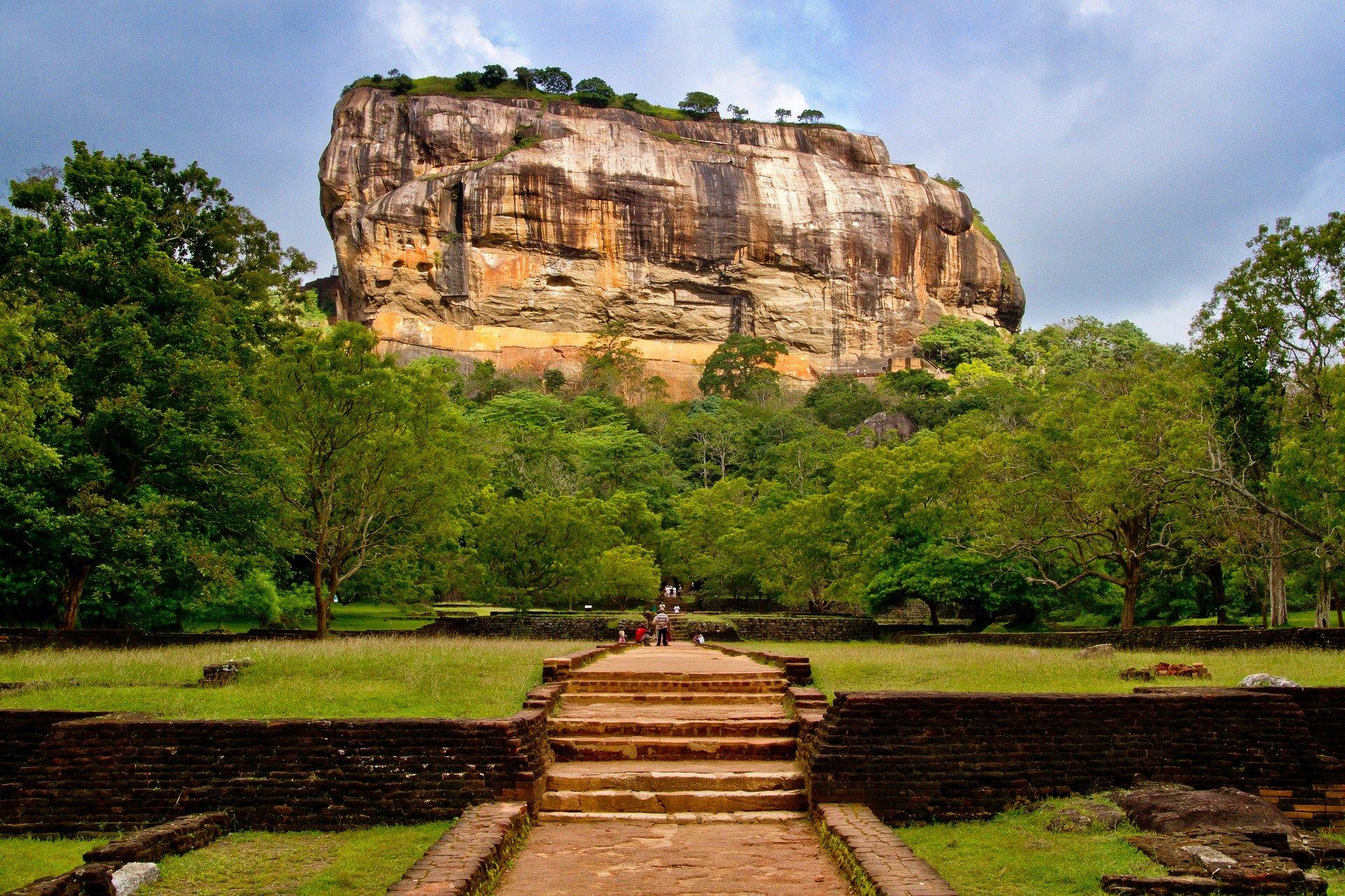 Sigyria Rock in Sri Lanka