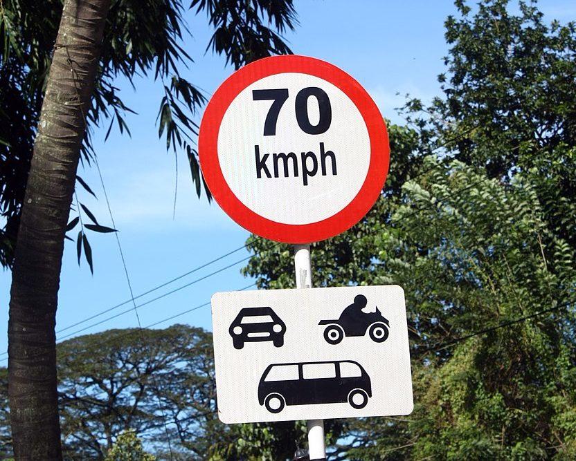 Sri Lanka Speed Limit