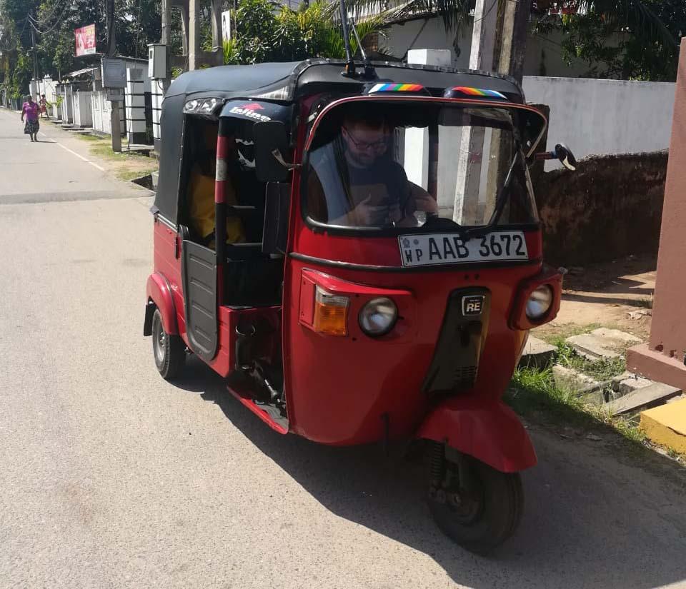 Tuk Tuk Rental Sri Lanka
