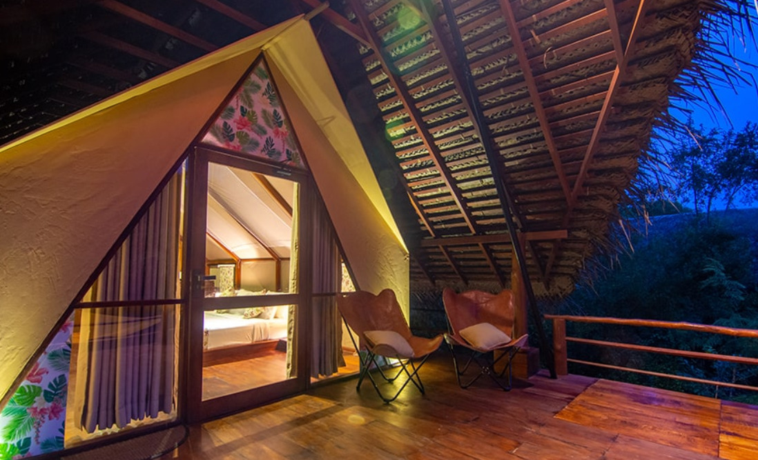 wilpattu thamara tent villa bungalow