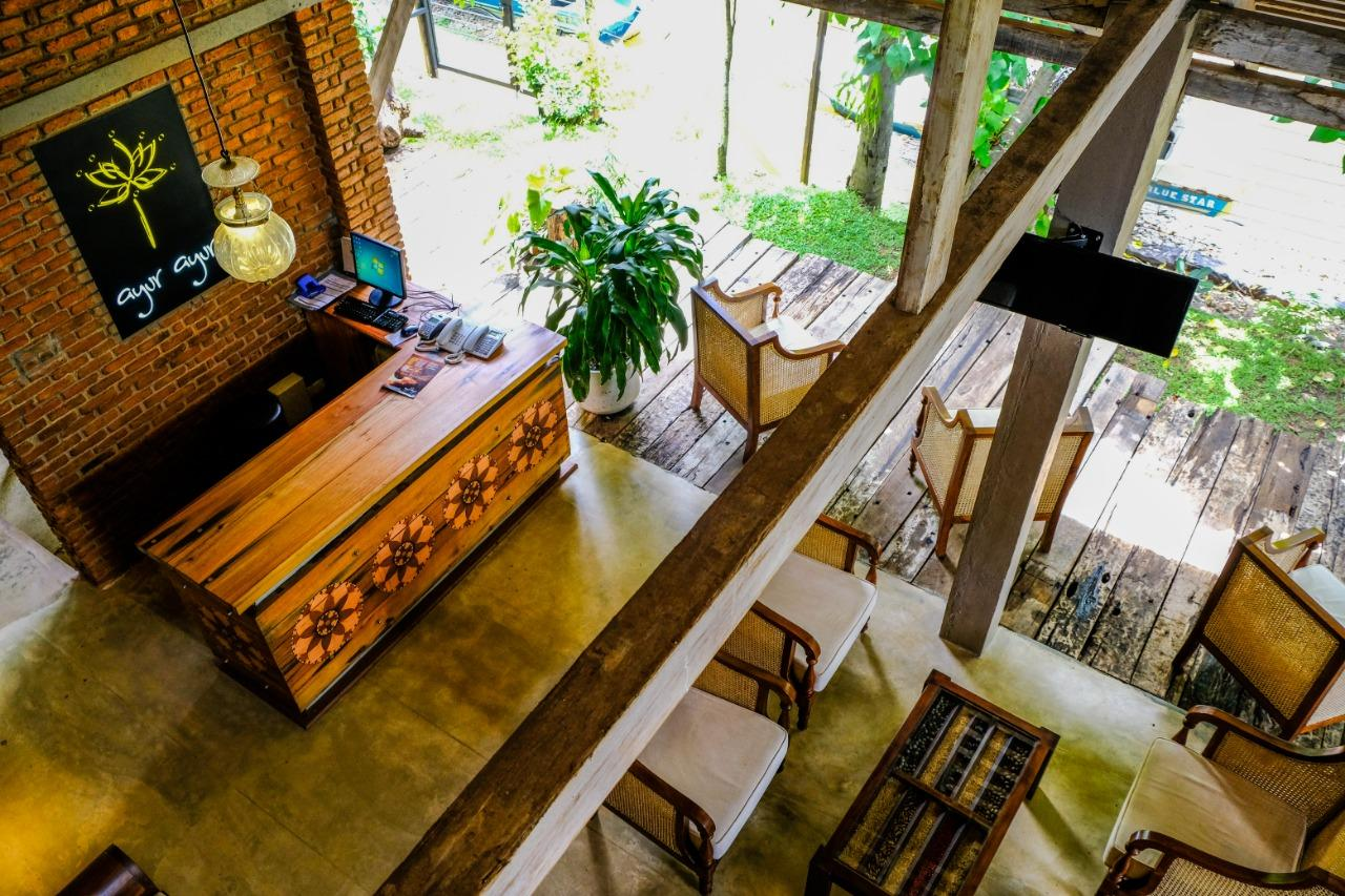 Ayur Ayur Retreat Negombo Lobby