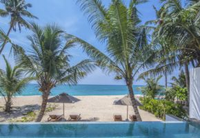 Mirissa Three Gables Boutique Villa beach
